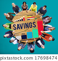 Savings Finance Income Profit Money Economic Concept 17698474