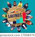 Savings Finance Income Profit Money Economic Concept 17698474