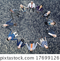 Team Corporate Togetherness Unity Connection Concept 17699126