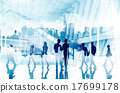 Business People Commuter City Life Busy Concept 17699178