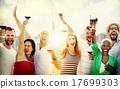 Friends Friendship Celebration Outdoors Party Concept 17699303