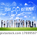 Business People Retirement Career Digital Communication Discussi 17699567