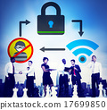 Online Security Protection Networking Privacy Concept 17699850