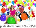 Multiethnic Children Balloon Happiness Friendship Concept 17699950