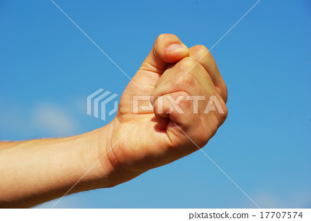 clenched fist 17707574