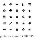 일본식 아이콘 세트 17709695