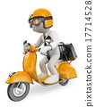 scooter moto 3d 17714528