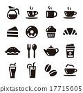 咖啡廳 圖標 Icon 17715605