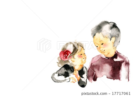 older brother, younger sister, buddy 17717061