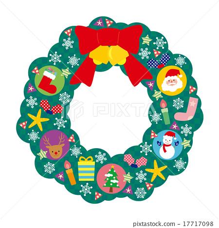 크리스마스리스, 크리스마스 리스, 크리스마스 17717098