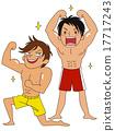 肌肉 健身 大男子主義 17717243