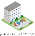 公寓大楼 17718222