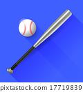 Baseball Bat and Ball  17719839