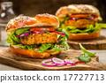 Healthy Vegan Burger 17727713
