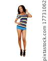 Pretty girl in dress. 17731062
