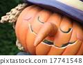 Halloween street decoration pumpkin lantern witch witch 17741548