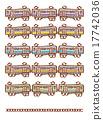 變體 矢量 火車 17742036