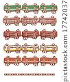 變體 矢量 火車 17742037