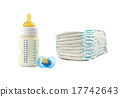 diapers milk bottle 17742643