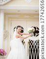 结婚礼服 婚纱 婚礼 17742656