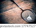 vintage badminton racquet 17747527