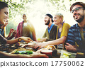 Friends Friendship Outdoor Dining People Concept 17750062