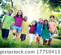 Children Friendship Togetherness Smiling Happiness Concept 17750413