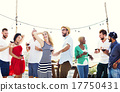 Diverse People Friends Hanging Out Drinking Concept 17750431