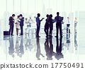 Business People Corporate Discussion Meeting Brainstorming Conce 17750491