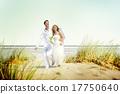 Couple Romance Beach Love Marriage Concept 17750640