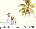 Couple Romance Beach Love Marriage Concept 17751780