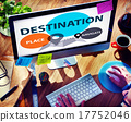Destination Navigate Exploration Place Travel Concept 17752046