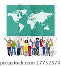 World Global Business Cartography Globalization International Co 17752374