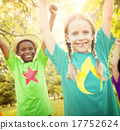 Children Friendship Togetherness Smiling Happiness Concept 17752624
