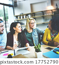 Meeting Talking Discussion Brainstorming Communication Concept 17752790