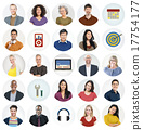Diverse Multi Ethnic People Technology Media Concept 17754177