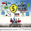 Business Insurance Policy Guard Safety Security Concept 17756058