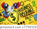 Business Insurance Policy Guard Safety Security Concept 17756326