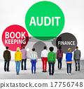 Audit Bookkeeping Finance Money Report Concept 17756748