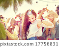 Friendship Dancing Bonding Beach Happiness Joyful Concept 17756831