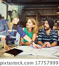 Designer Teamwork Brainstorming Planning Interior Concept 17757999