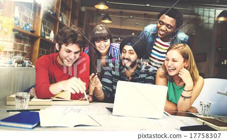 Designer Teamwork Brainstorming Planning Interior Concept 17758307