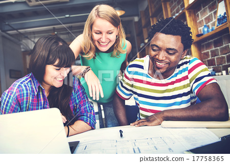 Designer Teamwork Brainstorming Planning Interior Concept 17758365