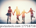 Friendship Freedom Beach Summer Holiday Concept 17758738