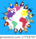 World Map Global International Globalisation Concept 17758787