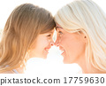 happy mother and child girl 17759630