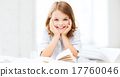 student girl studying at school 17760046