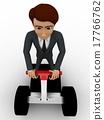 小型摩托车 三维 立体 17766762