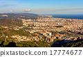 View of Barcelona from the top of Sagrat Cor 17774677