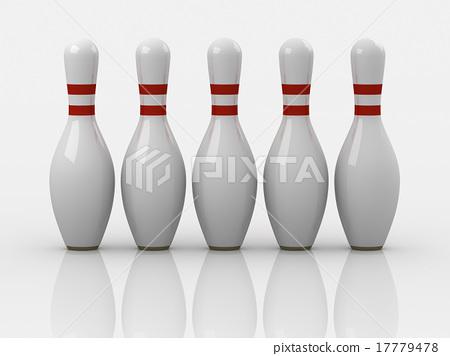 Bowling pin 17779478